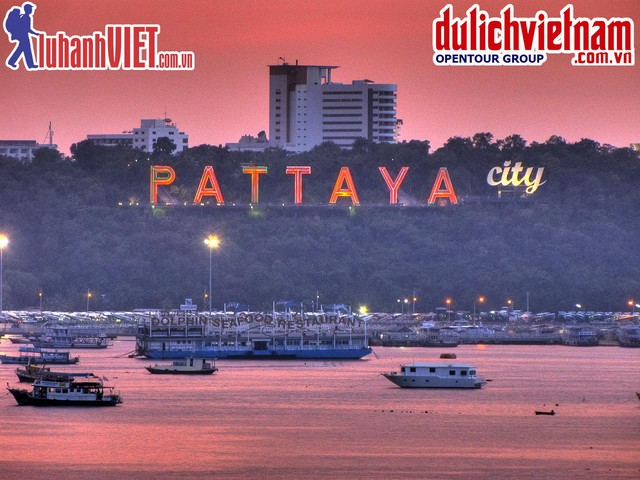 TOUR QUẢNG CÁO:Trải nghiệm hè du lịch Thái Lan: Bangkok - Pattaya 5N4Đ - 4