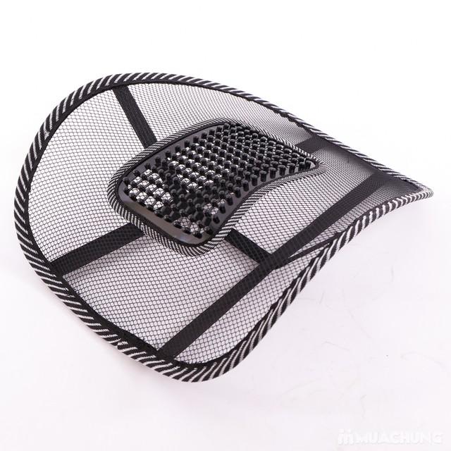 Tấm lưới tựa lưng - Hạn chế mỏi lưng khi ngồi - 4