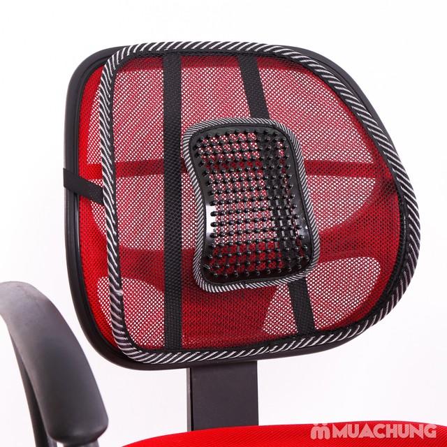 Tấm lưới tựa lưng - Hạn chế mỏi lưng khi ngồi - 1