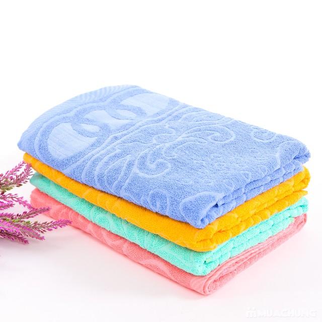 Combo 2 khăn bông tắm cỡ lớn 60cmx120cm - 10