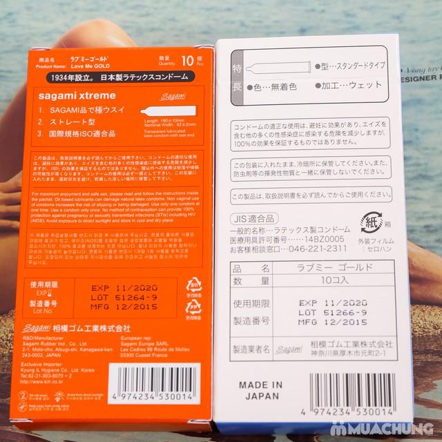 2 hộp bao cao su Sagami cao cấp Nhật Bản - 11