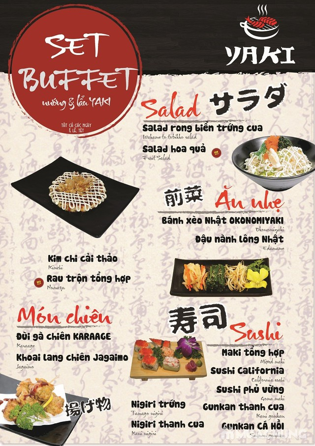 Buffet nướng lẩu Nhật Bản cao cấp Yaki-Free Pepsi - 5