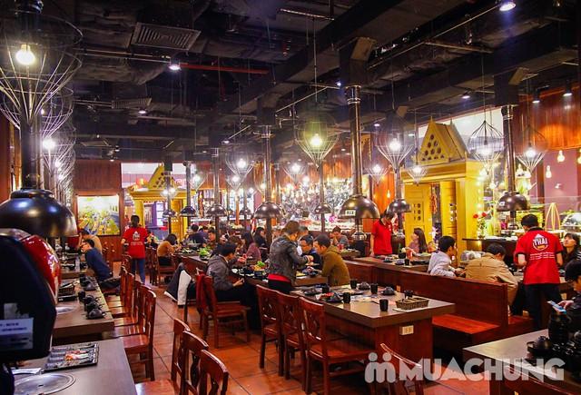 Buffet nướng lẩu cao cấp tại nhà hàng Thái BBQ - 6