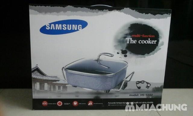Chảo lẩu đa năng Samsung vân đá - 5