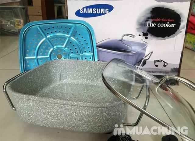 Chảo lẩu đa năng Samsung vân đá - 4