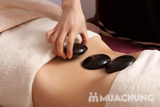 Massage body đá nóng 90' tặng chăm sóc da mặt HM Beauty Clinic - 5