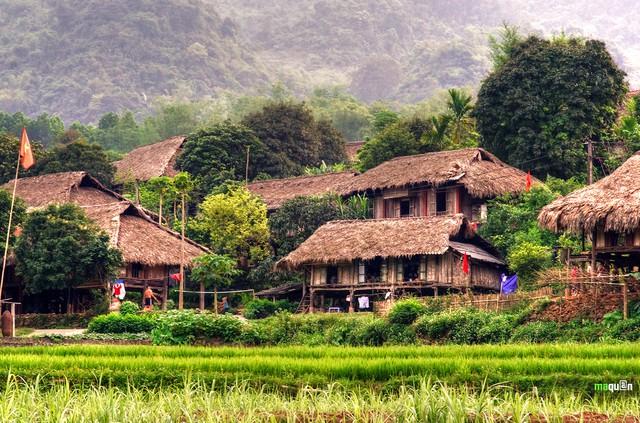 Mai Châu - Mộc Châu - Thiên Thai - Đền Bồng Lai - 24