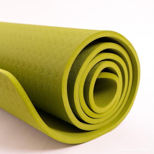Thảm tập Yoga dày 8mm chống trơn kèm túi đựng - 11
