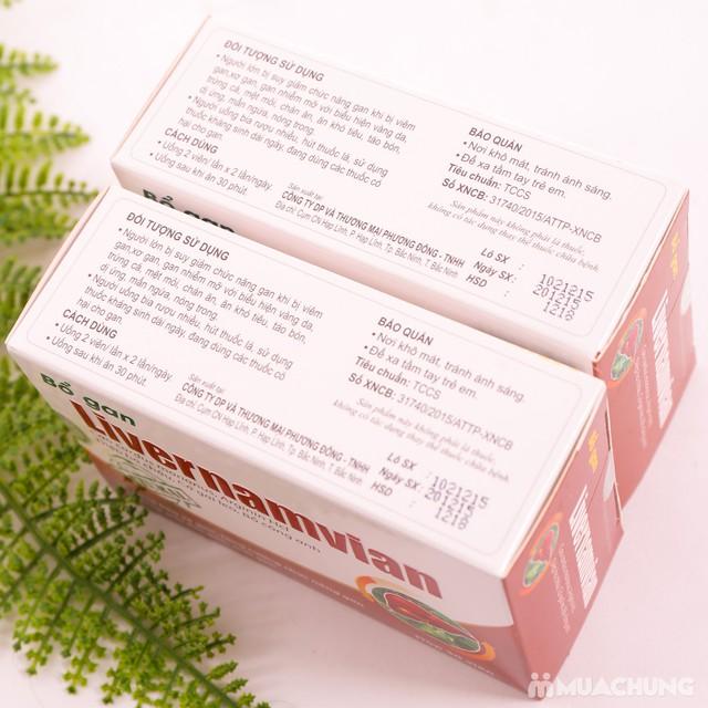 TPBVSK - 2 hộp Bổ gan Livernamvian (30 viên/1 hộp) - 11