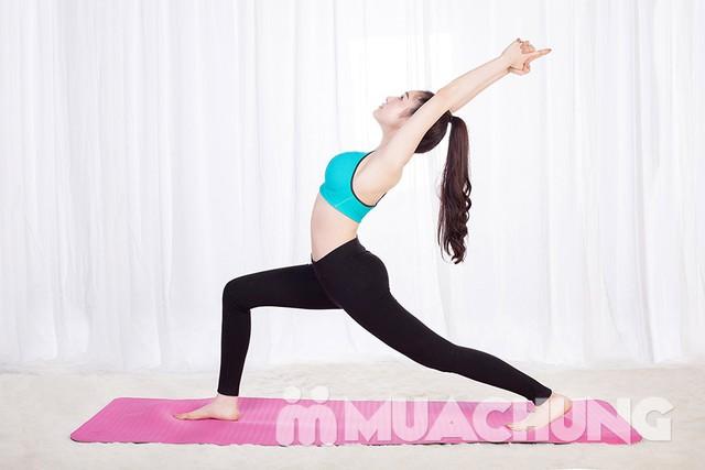 Thảm tập Yoga dày 8mm chống trơn kèm túi đựng - 8