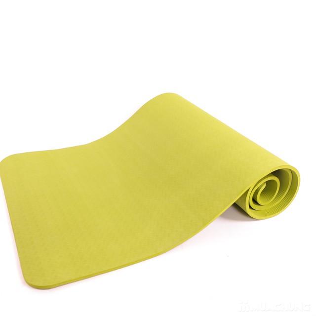 Thảm tập Yoga dày 8mm chống trơn kèm túi đựng - 12