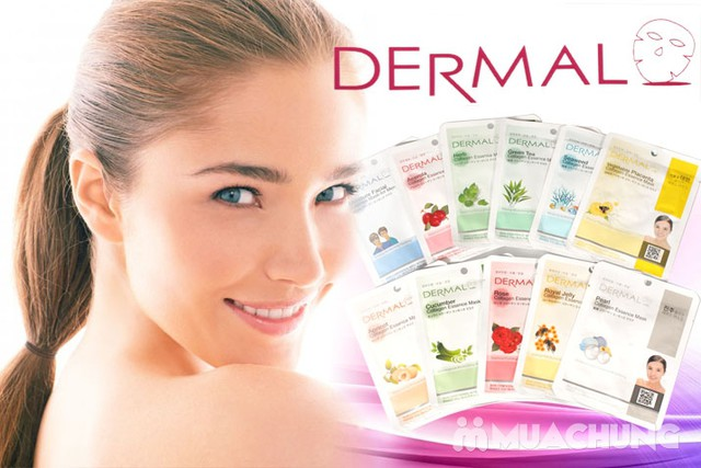 Combo 10 mặt nạ dưỡng da Dermal - Mua 10 tặng 1 - 8