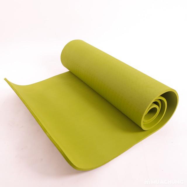 Thảm tập Yoga dày 8mm chống trơn kèm túi đựng - 9