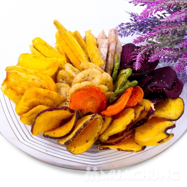 3 túi hoa quả sấy thập cẩm thơm ngon (300g/1 túi) - 4