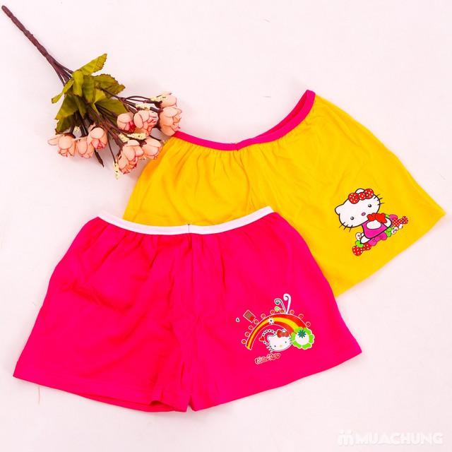 5 quần chíp đùi cho bé gái in hoạt hình xinh xắn - 7