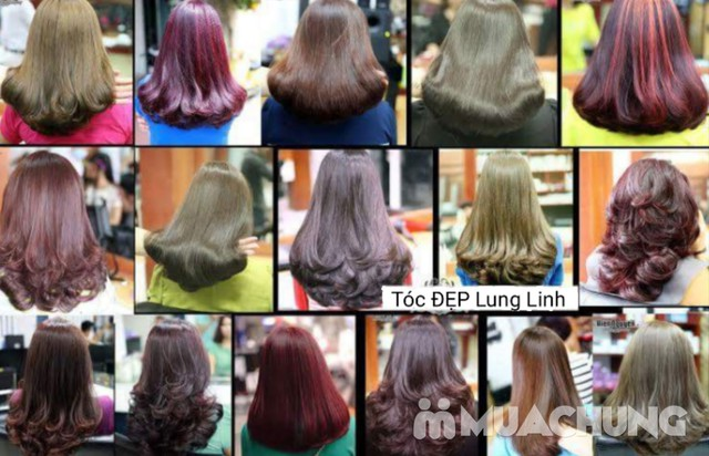Trọn Gói làm tóc đẳng cấp Viện tóc Hà An Cây kéo vàngSG - 5