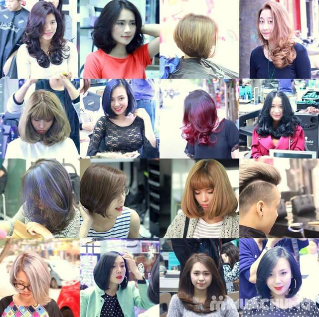 Trọn Gói làm tóc đẳng cấp Viện tóc Hà An Cây kéo vàngSG - 6