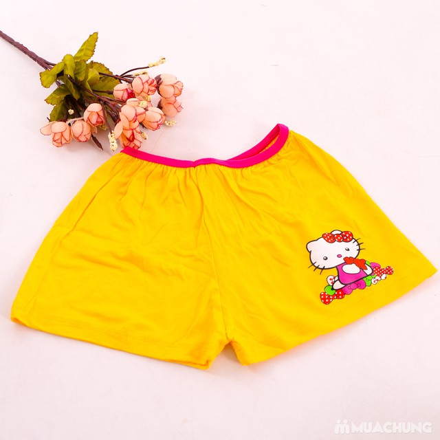 5 quần chíp đùi cho bé gái in hoạt hình xinh xắn - 8