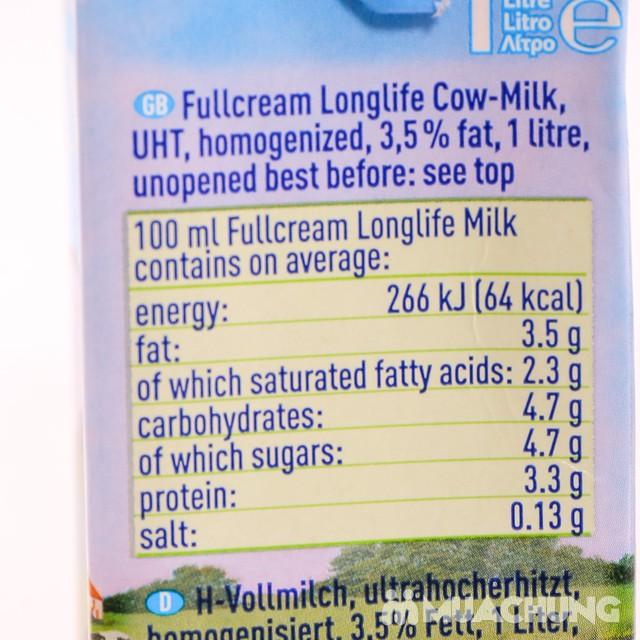 1 thùng 12 hộp sữa Frischli nguyên kem loại 1L - 7