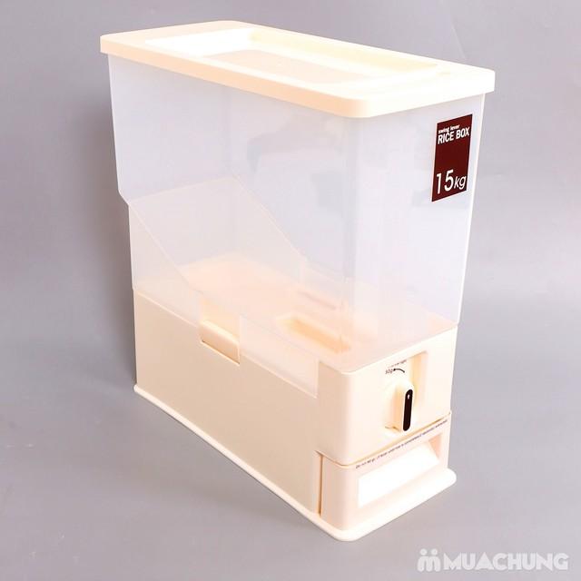 Thùng đựng gạo thông minh Dispenser 15kg - 9
