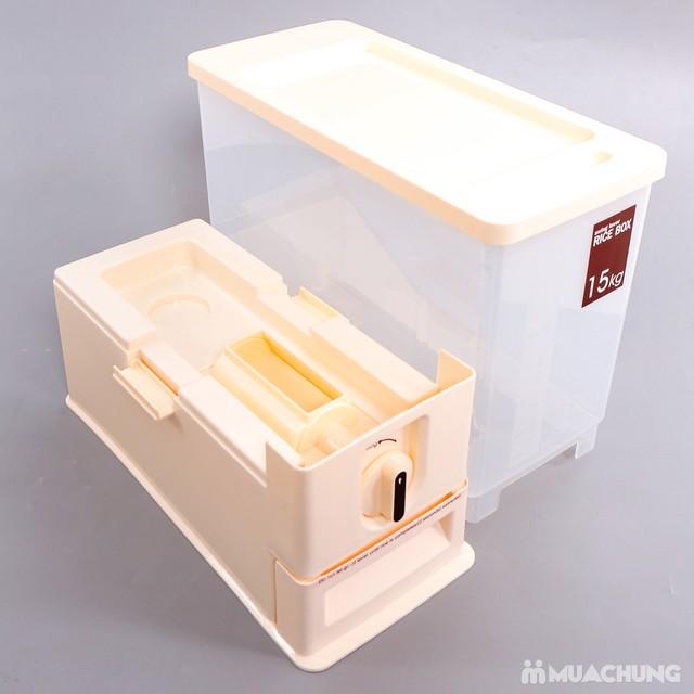 Thùng đựng gạo thông minh Dispenser 15kg - 12