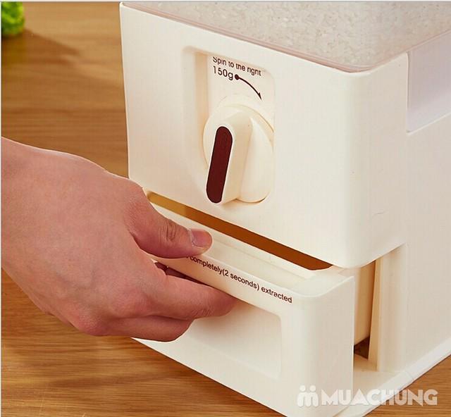 Thùng đựng gạo thông minh Dispenser 15kg - 7