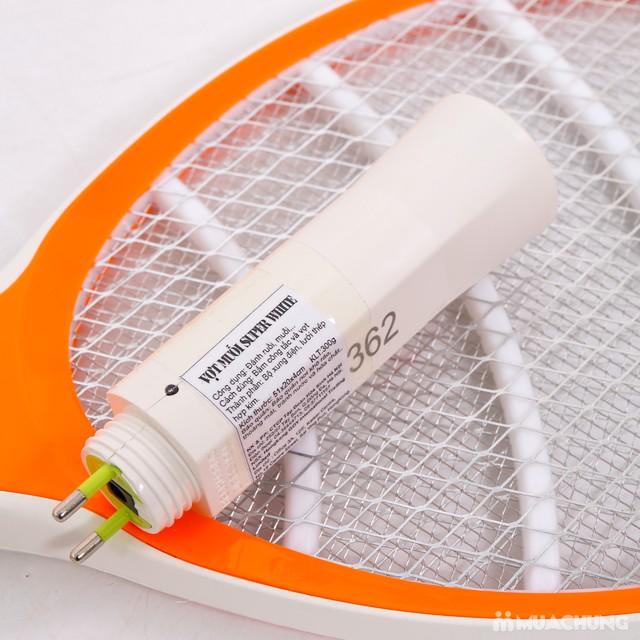 Vợt muỗi 2 trong 1 SuperWhite siêu tiện dụng - 7