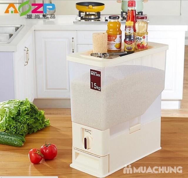 Thùng đựng gạo thông minh Dispenser 15kg - 5