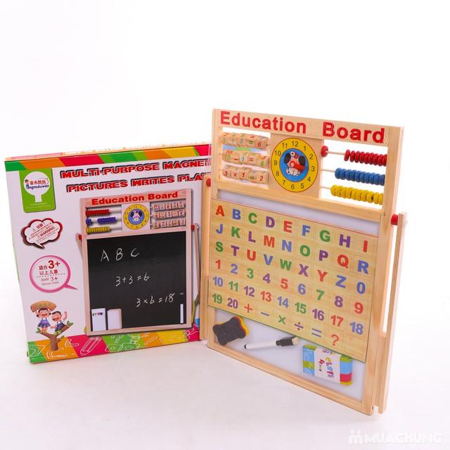 Bảng học đa năng 2 mặt cho bé đọc, viết, làm tính - 1