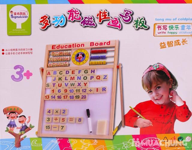 Bảng học đa năng 2 mặt cho bé đọc, viết, làm tính - 3