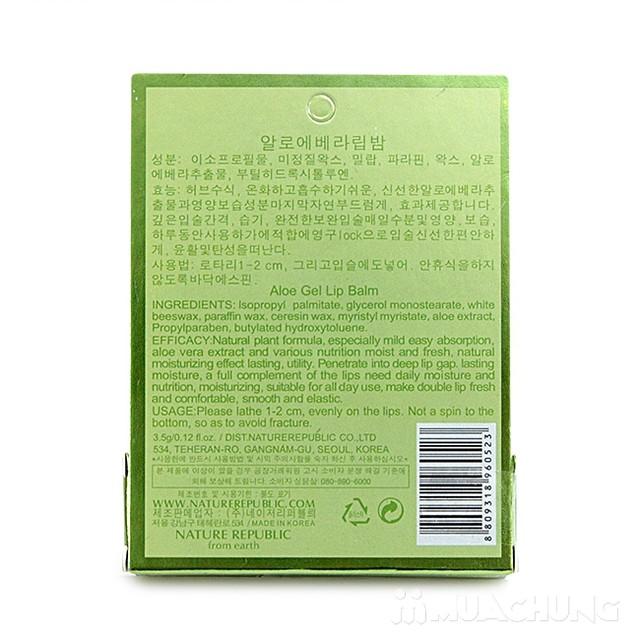 Son dưỡng môi Aloe Vera Nature Repulic - 5