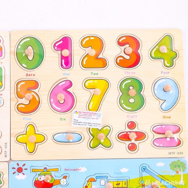 4 bảng ghép hình và chữ cái VIVITOYS Việt Nam  - 12