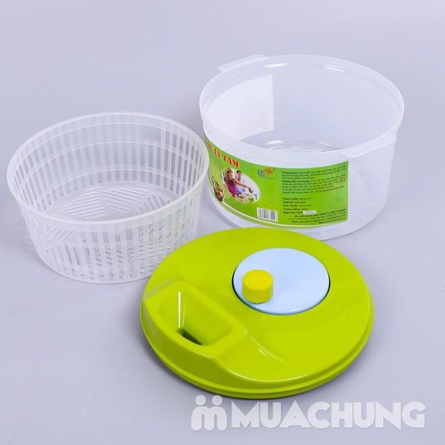 Rổ quay rau quả ly tâm Tashuan an toàn, tiện dụng - 9