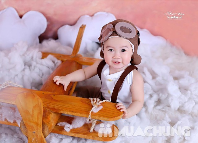 Gói chụp ảnh cho bé hấp dẫn tại Suitin Studio - 1