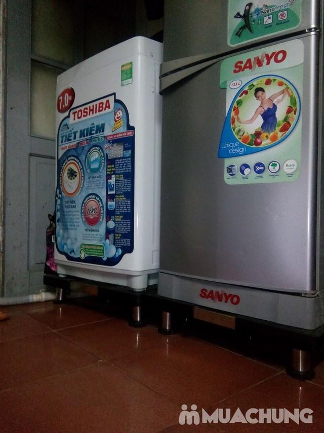 Kệ chân inox đa năng để máy giặt, tủ lạnh Đại An - 1