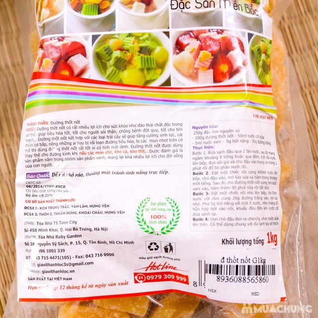 1kg đường thốt nốt Thành Lộc tốt cho sức khỏe - 3