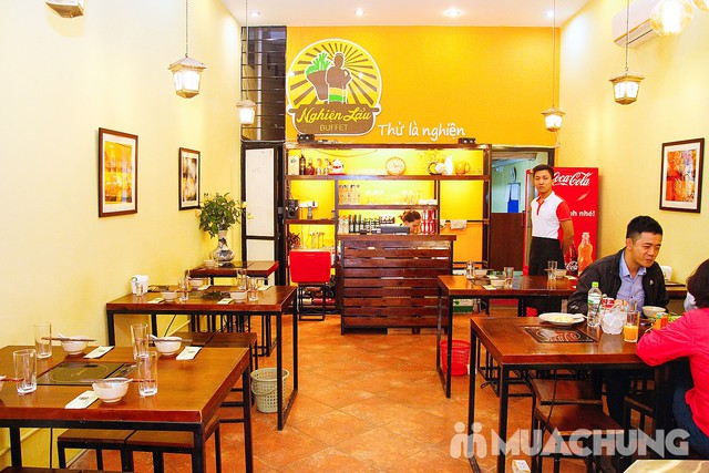 Buffet lẩu trưa tươi ngon tại nhà hàng Nghiện Lẩu  - 23