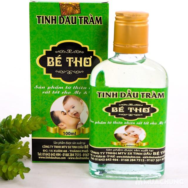 Tinh dầu tràm Bé Thơ lọ 100ml tốt cho mẹ & bé - 6