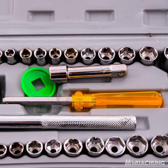 Bộ dụng cụ sửa chữa ô tô, xe máy 40 món tiện lợi - 5