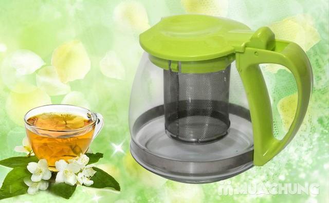 Bình lọc trà tiện lợi, bền, đẹp dung tích 700ml - 5