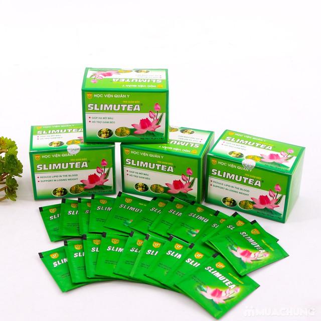 4 hộp trà giảm cân Slimutea - Học viện Quân Y - 8