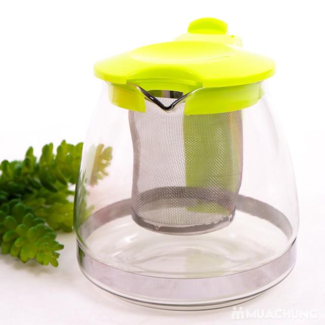 Bình lọc trà tiện lợi, bền, đẹp dung tích 700ml - 8