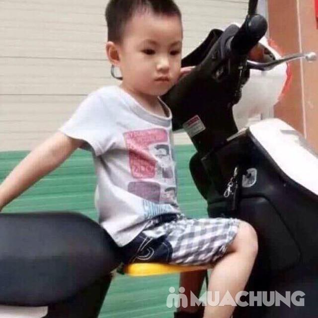 Ghế ngồi trước xe máy cho trẻ - 12