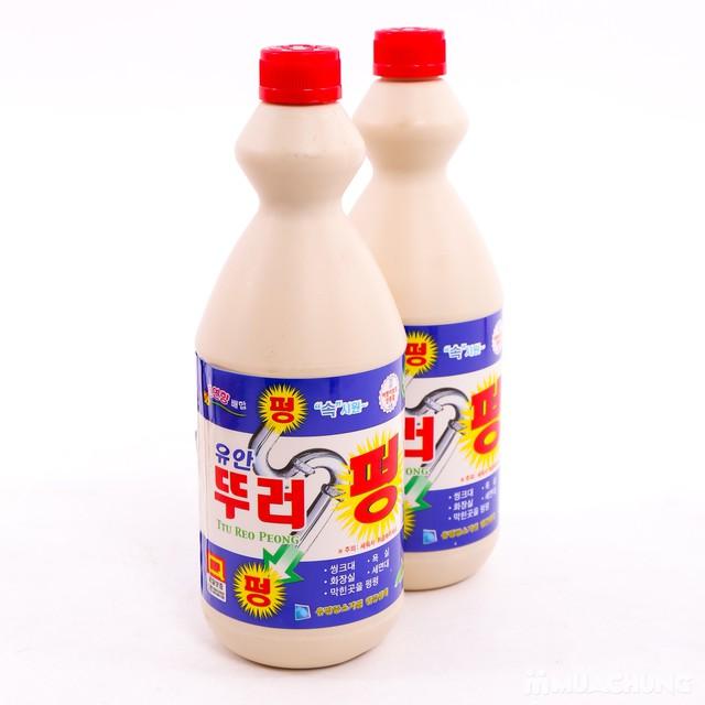 2 chai dung dịch tẩy rửa ống thoát nước Hàn Quốc - 10