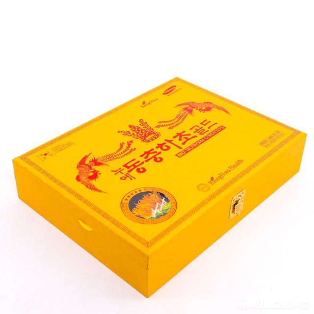 Nước đông trùng hạ thảo 60 túi Hàn Quốc hộp gỗ  - 11