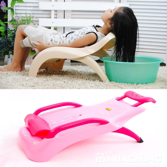 Ghế gội đầu an toàn cho bé chất nhựa bền chắc - 13