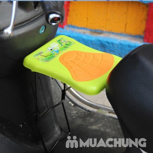 Ghế ngồi trước xe máy tiện dụng cho bé - 6