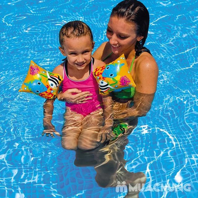 Combo 2 phao tay cá Intex an toàn, tiện lợi cho bé - 6