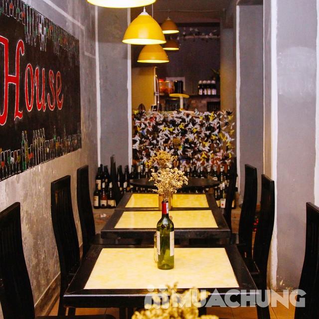 Siêu Bít tết nướng đá & Spaghetti kiểu Âu 2 người-NH Steak House - 12