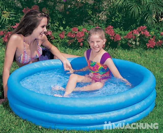 Bể bơi Intex 58426 3 tầng màu xanh  - 1